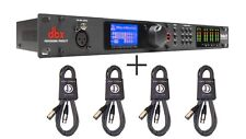 DBX DriveRack PA2 Loudspeaker Management System + 4 FREE CABLES