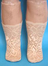 Chaussettes Jumeau®J51 poupée ancienne pieds 8.5x3.5cm-Doll socks made in france