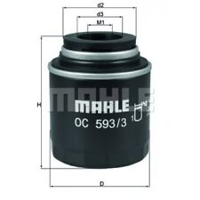 MAHLE ORIGINAL Oil Filter OC 593/3