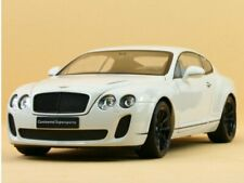 Welly Maquette de Voiture 1 18 Bentley continentales Supersports 18038w Blanc