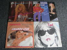 Amanda Lear-4 x 7 PS-Germany-45 U/min-POP-Disco