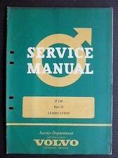 """VOLVO """" P 120 """" 1963 Original Factory SERVICE MANUAL No. 12 RARE"""