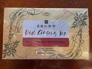 Korean Red Ginseng Tea 2g x 100 Packets, Ginseng Tea, Korean Red Ginseng Roots
