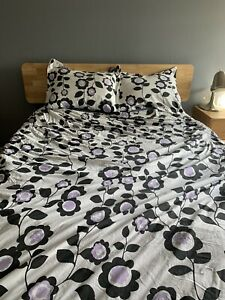 Pottery Barn Teen Duvet Cover And Matching  Shams