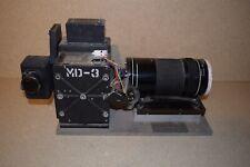 "** MULTIDATA SCI 35mm Film Camera Flight Research- WOLLENSAK FOTOTEL 20"" 6.3"