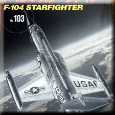 Aircraft Book USA Lockheed F-104 Starfighter Jet Fighter Cold War Russia Germany