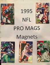 1995 Pro Magnets NFL FOOTBALL $1.99 each ALL TEAMS ( Pro Mags )