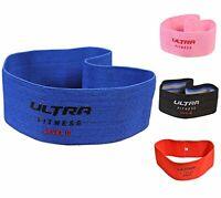 Hip Circle Glute Resistance Band Premium Elastic Fabric, LATEX FREE Pilates