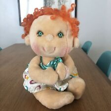 Vintage 1985 HUGGA BUNCH Kenner Red Hair TICKLES Baby Plush Doll