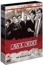 Law and Order Season 7 - DVD Region 2