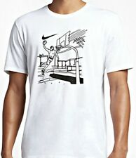 AUTHENTIC NIKE DRI-FIT HOOP DRAW WHITE T SHIRT 898391-100