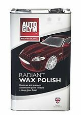 Autoglym Radiant Super Resin Wax Polish 5 LITRE 5L NEW *FREE DELIVERY*