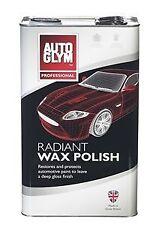 Autoglym Radiant Super Resin Wax Polish 5 LITRE 5L