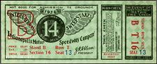 1 1926 INDIANAPOLIS INDY 500 AUTO RACING VINTAGE UNUSED FULL TICKET  laminated