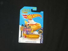 HOT WHEELS THE BEATLES YELLOW SUBMARINE Die Cast mint on card