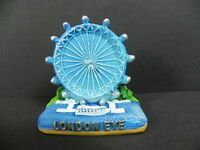 London Eye Riesenrad,4 cm Poly Fertig Modell,England GB Souvenir,NEU