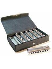 Suzuki Promaster box Harmonica Set (C, G, A, D, F, Bb), Harmonica in all keys, b