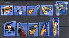 Japan 2019 Yen 84 Musical Instruments Series 2, (Sc #4363a-j), Stamped