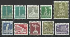 GERMANY / BERLIN 1956 BUILDINGS AND MONUMENTS MINT