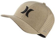 Hurley Phantom 4.0 Flexfit Hat Size L xl Beige Tan W  Nike Dri- cbf6eb8a5593