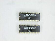 """MN6040  """"Original"""" Panasonic (Matsushita)  16P DIP IC  2  pcs"""