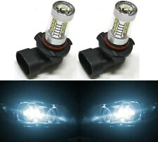 LED 80W 9005 HB3 White 6000K Two Bulbs Head Light High Beam Replacement OE