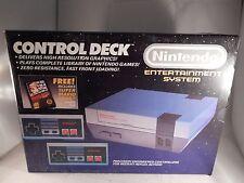 Original Nintendo NES Console System (COMPLETE IN BOX, CIB) #S048