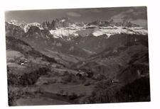 Italy - Bolzano, Gruppo del Catinaccio - Vintage Real Photo Postcard