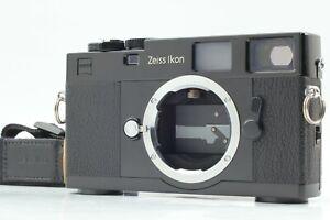 【EXCELLENT+++++ w/ STRAP】 Zeiss Ikon ZM Rangefinder BLACK Film Camera from JAPAN