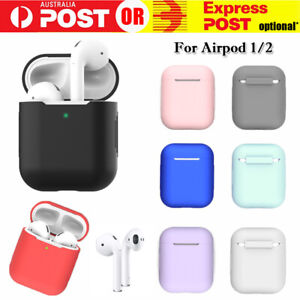 Apple Airpods Silicone Gel Case Shockproof Protective Cover Skin Case 1 2 Pro