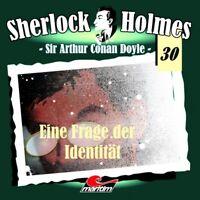 Sherlock Holmes 30 Eine Frage von Identität CD Maritim Verlag Hörspiel Rode NEU