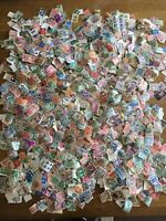 World & Commonwealth Stamps 4000+ Vintage To Modern Off Paper