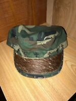 M&F Women's Camo Brown Horse Hair Baseball Cap Hat One Size 1540219 NWT