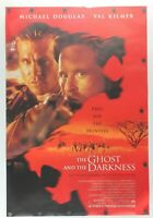 """The Ghost and the Darkness 1996 Double Sided Original Movie Poster 27"""" x 40"""""""