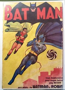 Batman #1 Indonesia Foreign Edition. 1970s Scarce. 4 copies known DC Comics