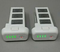 2 OEM Genuine DJI Phantom 3 Intelligent Flight Battery - 10 & 12 CHARGES