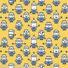FABRIC Quilting Treasures ~ DESPICABLE ME - 1 IN A MINION ~ (23992 S) by 1/2 yd