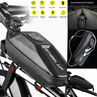 Bike Frame Bag Water Resistant Top Tube Bag Bicycle Front Phone Bag Pouch