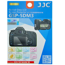 JJC GSP-5DM3 Optical GLASS LCD Screen Protector Canon EOS 5D III 5DIII 5DSR 5DS