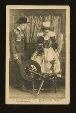 France Social History SPINNING Chansons de Botrel Lace c1900/10s? PPC