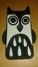 Marc Jacobs New Owl iPhone 6 Holder Black White Rubber