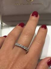 PLATINUM HALF ETERNITY RING 1.00CT GSI DIAMOND QUALITY LADY RING GOY601