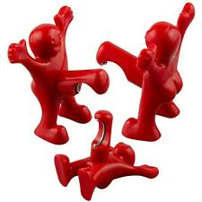 New Red Happy Little Man Soda Beer Bottle Opener Bar Novelty Kitchen Tools Gifts