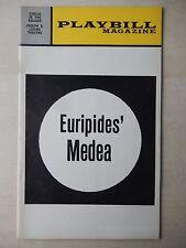 January 1973 - Joseph E. Levine Theatre Playbill - Euripides' Medea - Pappas