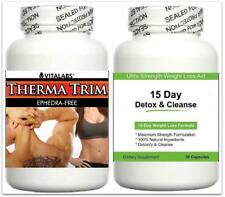 Fat Burner Diet Pills Detox Cleanse Lean Muscle Strong Fat Loss Abs Growth Aid
