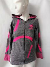 Adidas Ladies hoodie, sweatshirts,top,sports wear, grey, pink, long sleeve