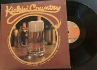 "Kickin Country Vinyl 12"", 33 1/2 Rpm Record"