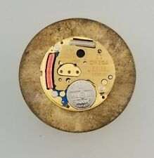 OMEGA CALIBER 1382 QUARTZ CHRONOMETER WATCH MOVEMENT – DISCONTINUED – WORKS