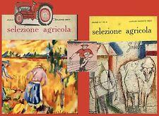 Selezione Agricola 1957 Due riviste colture idroponiche Olio scorie Thomas
