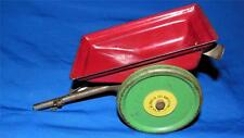 NN HILL 1930'S EASTER BUNNY PULL TOY & OTHERS REPLACEMENT STEEL CART W BELL